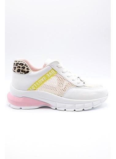 La scada Pıerre Cardın Pc-30120 Beyaz Kadın Spor Ayakkabı Beyaz